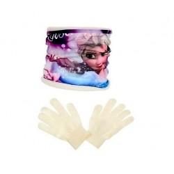nákrčník + rukavice Frozen