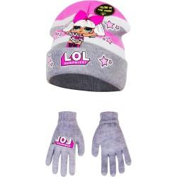 Set čepice a rukavice LOL...