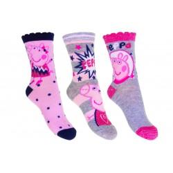Ponožky Peppa Pig - 3-pack