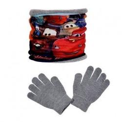 nákrčník + rukavice Cars