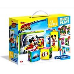 Kostky Mickey Multi Play