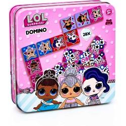 Domino -v plechové krabičce...