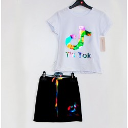 Tričko + sukně Tik Tok