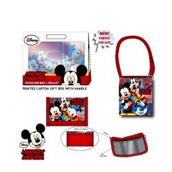 Taška a peněženka Mickey...