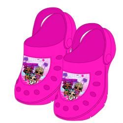 Sandály LOL - tmavě růžové