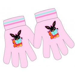 Růžové rukavice Zajíček Bing