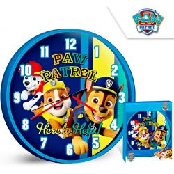 Nástěnné hodiny Paw Patrol