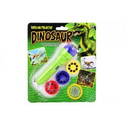 Projektor dinosaurus