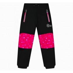 Dívčí softshellové kalhoty...