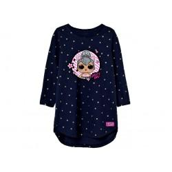 Šaty L.O.L. modré s hvězdami