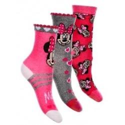 Ponožky Minnie 3 pack