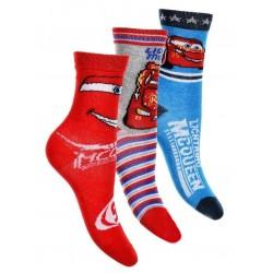 ponožky CARS- 3 pack