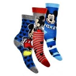 ponožky Mickey- 3 pack