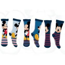 Ponožky Mickey Mouse - 3 páry