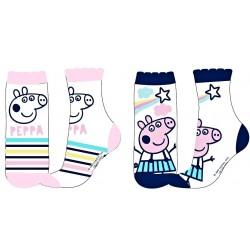 Ponožky Peppa Pig - 2 páry