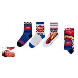 ponožky Cars-3 pack