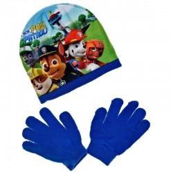 čepice a rukavice Tlapková...