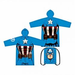 Pláštěnka + vak Avengers -...