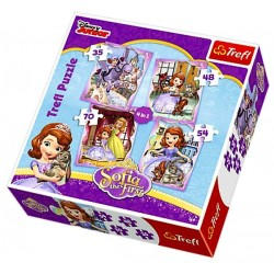 puzzle Sofie První 4 v 1