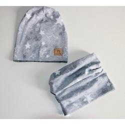 bavlněná čepice s nákrčníkem