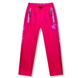 zateplené šusťákové kalhoty