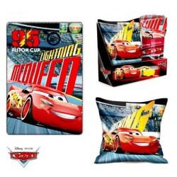 souprava deka + polštář Cars