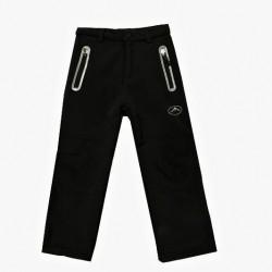 zateplené softshellové kalhoty