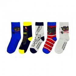 Ponožky -Jak vycvičit draka