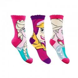 Ponožky Frozen - 3 páry
